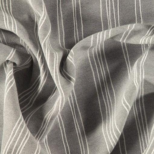 Jacquard Grau Mit Weissen Streifen Stoff Stil Stoffe Stoff