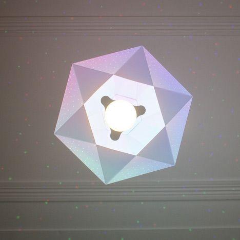 CMYK bulb by Dennis Parren