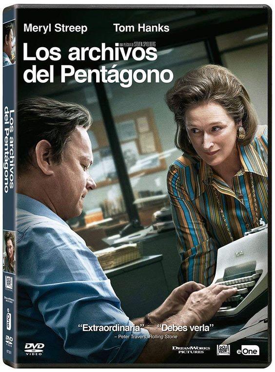 Los Archivos Del Pentágono Vídeo Dirigida Por Steven Spielberg Dvd Tom Hanks Películas Completas