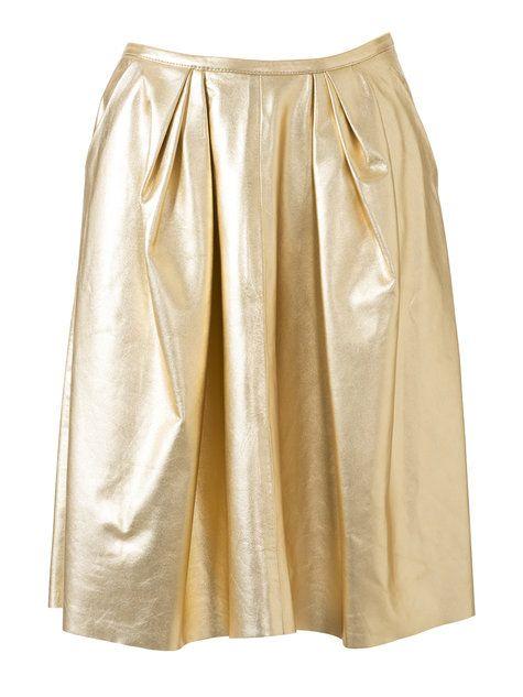 Metallic Leather Skirt 10/2014 #106B – Sewing Patterns | BurdaStyle.com