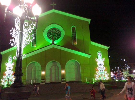 Próximo do Natal Igreja São Pedro- Pato Branco-Pr