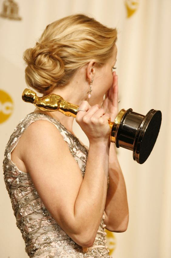 Reese Witherspoon accepting her Best Actress Oscar for Walk the Line, March 5th 2006