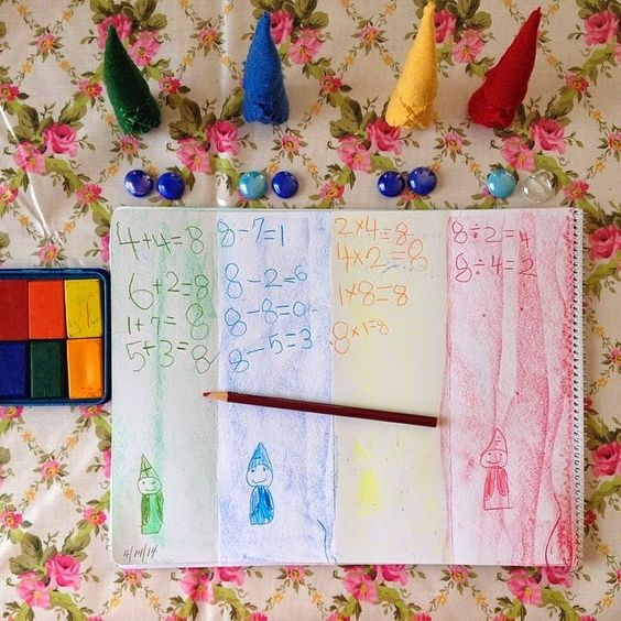 One Sweet World: Monday Morning: math gnomes