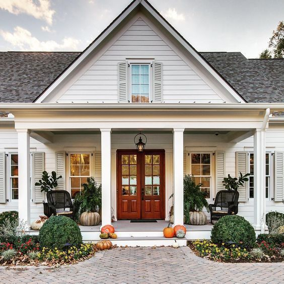 Dream Front Porch Modern Farmhouse Exterior Farmhouse Front