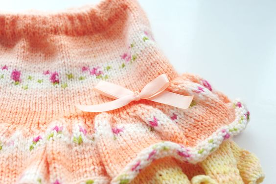 Юбочка спицами для принцессы | Knitting-Room