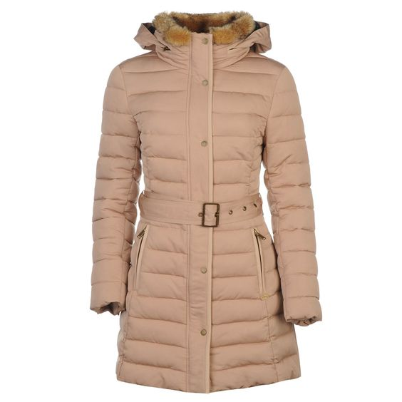 Firetrap | Firetrap Long Line Luxury Bubble Jacket Ladies | Ladies