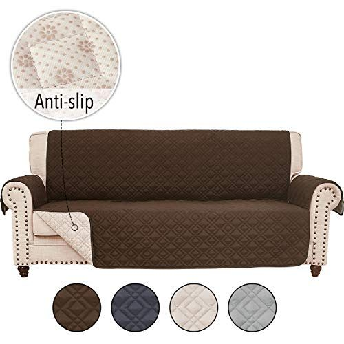 Rhf Anti Slip Sofa Cover For Leather Sofa Couch Cover C Https Www Amazon Com Dp B07tynvgj8 Ref Cm S Leather Sofa Furniture Couch Covers Cushions On Sofa