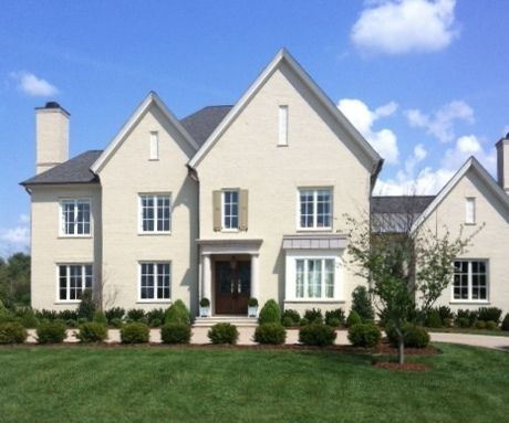 Painted Brick Houses Relaxed Khaki By Sherwin Williams