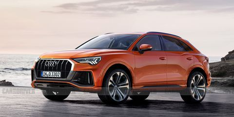 The Audi Q3 Is Getting A Coupe Like Sportback Stablemate Audi Q3 Audi Chevrolet Corvette