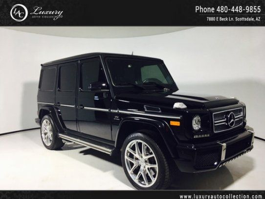Sport Utility 2016 Mercedes Benz G 65 Amg 4matic With 4 Door In Scottsdale Az 85260 Mercedes Benz Benz G Benz