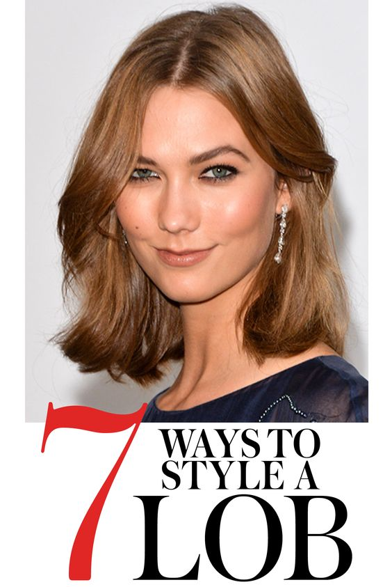 ways to style your hair 7 easy ways to style midlength hair bobs halflang en 7579