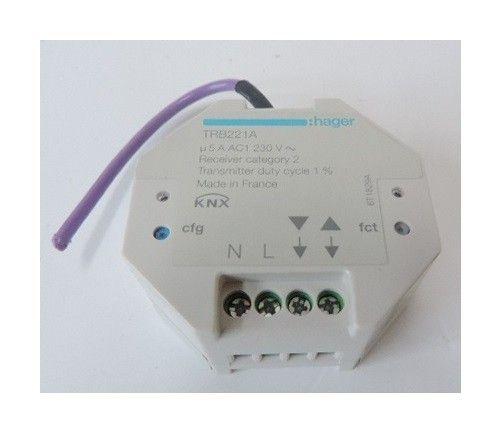 Module Radio 1 Sortie Volet Roulant A Encastrer 230v Pour