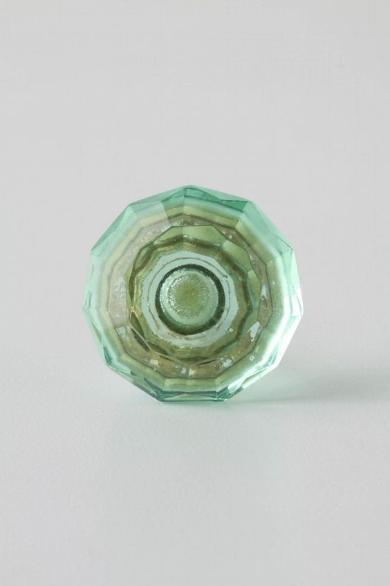Faceted Glass Knob from Anthropologie $6 ea