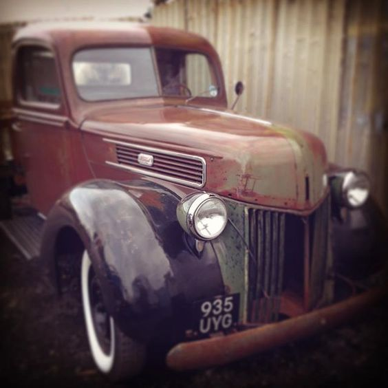 1941 Ford Pick-up. V8 Flathead. Fully restored after 2 years work ... Ready to hit the road ... #vintagetruck #fordpickup #v8 #flathead