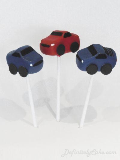 Car Cake Pops