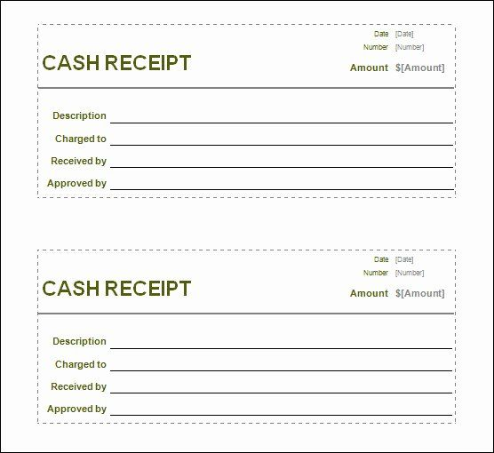 Free Blank Receipt Template Fresh 13 Blank Receipt Template Receipt Template Free Receipt Template Invoice Template Word