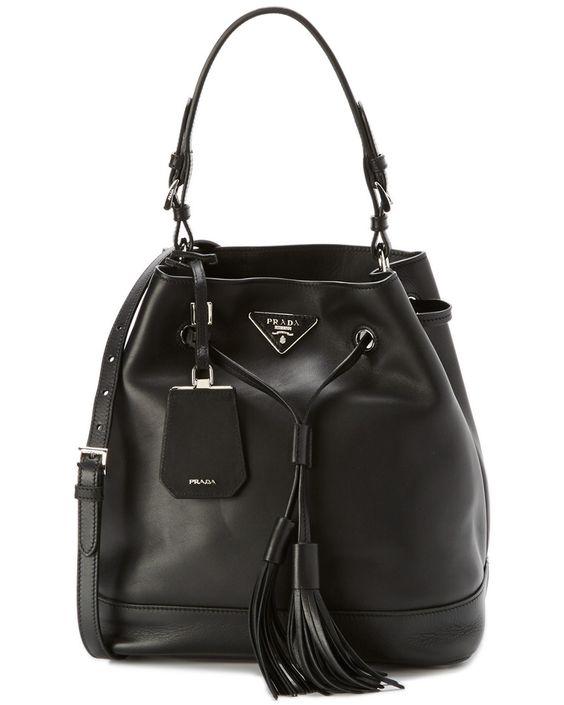 Prada Large Leather Bucket Bag  $1,749.99 $2,100.00
