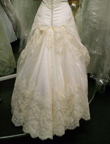 Bustle ann arbor and lace back on pinterest for Ann arbor wedding dress