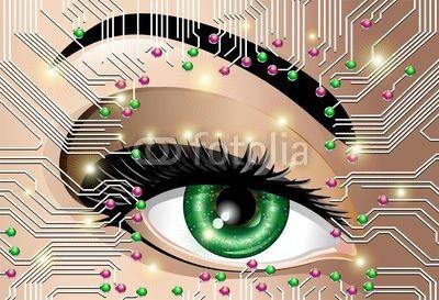 #Circuit #Board #Electronic #Eye © #Bluedarkat - on #Fotolia!