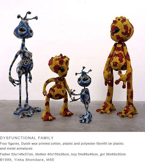 yinka shonibare - dysfunctionla family