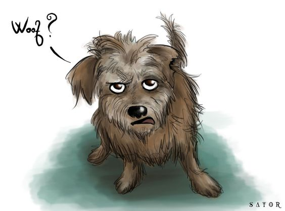 Gaspode the Wonder Dog by StormBay on @DeviantArt