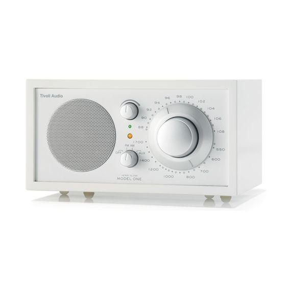 Want this! Model One radio, frost/snövit i gruppen Inredningsdetaljer / Radioapparater hos RUM21 AB (102251)