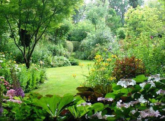 Jardin l 39 anglaise am nagement jardin pinterest google for Jardin a l anglaise