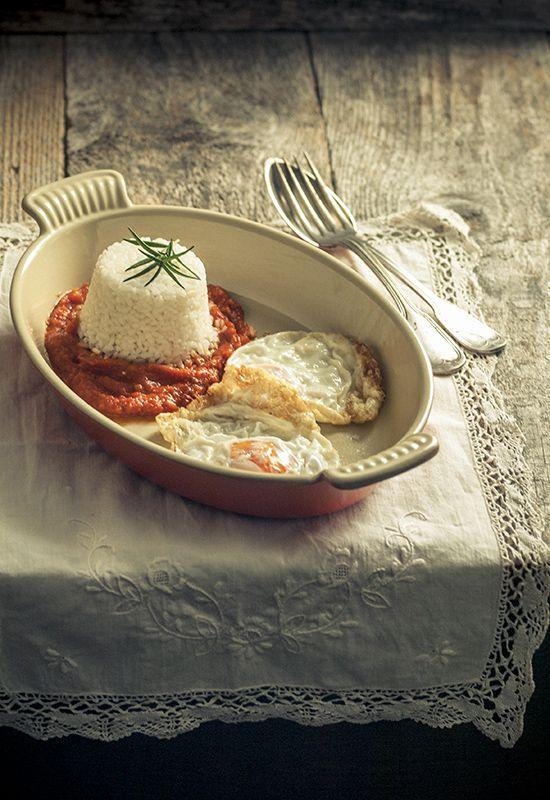Receta 170 arroz blanco con huevos fritos 1080 fotos de - Comidas con arroz blanco ...
