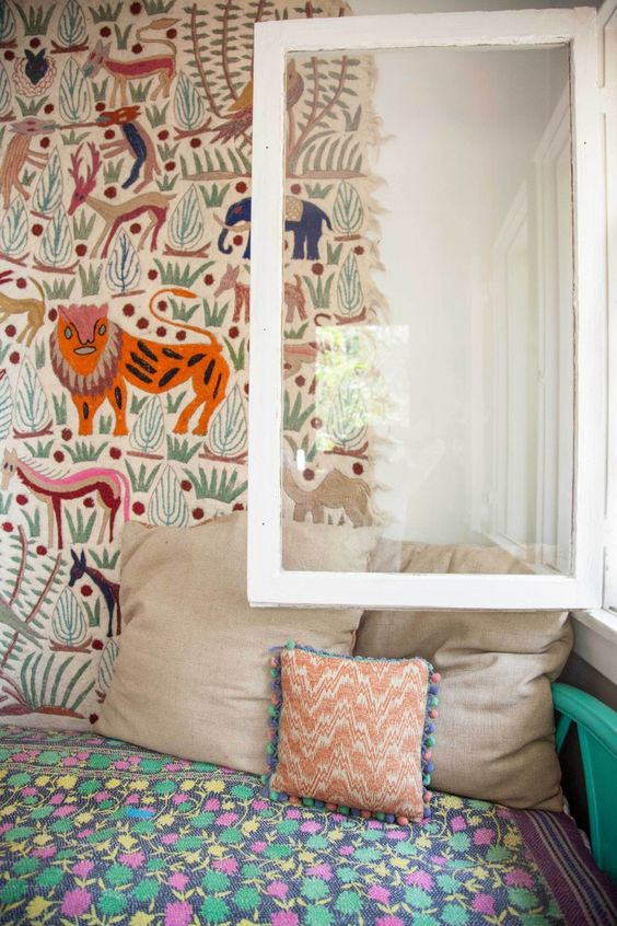 Best 8 Eclectic Rooms For Kids Patterns Tapestries And Jungles 640 x 480
