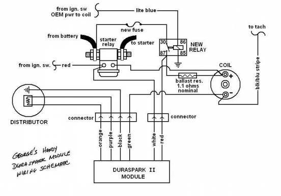 16 Duraspark Wiring Diagram Ford Diagram Electric Circuit Wire