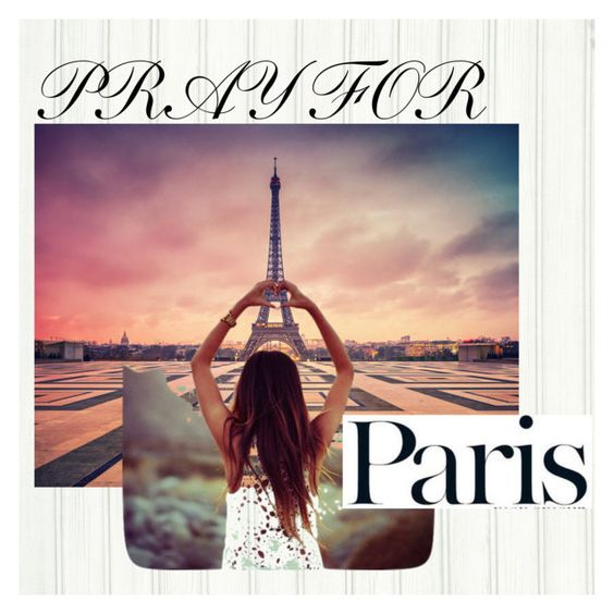"""""""Pray For Paris"""" by josselynne9725 ❤ liked on Polyvore featuring art and prayforparis"""