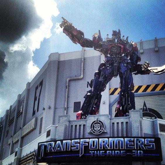 Universal Studios Florida Transformers The Ride 3D