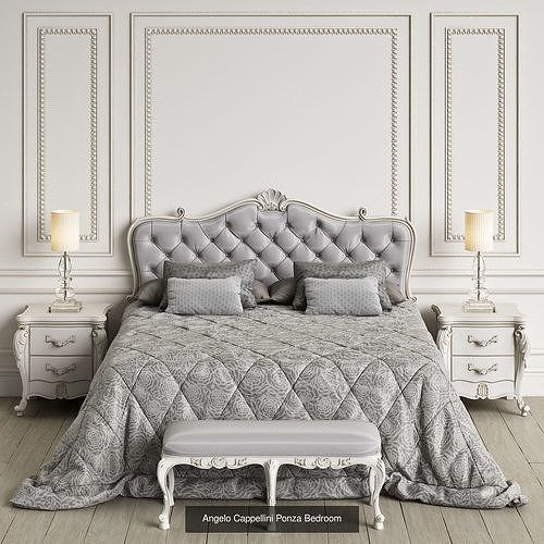 Classic Bedrooms Pack 3d Model Collection Bedroom Interior Classic Bedroom Furniture Classic Bedroom
