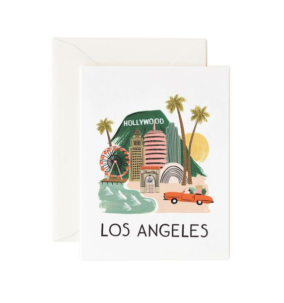 Los Angeles Available as a Single Folded Card or a Boxed Set of 8