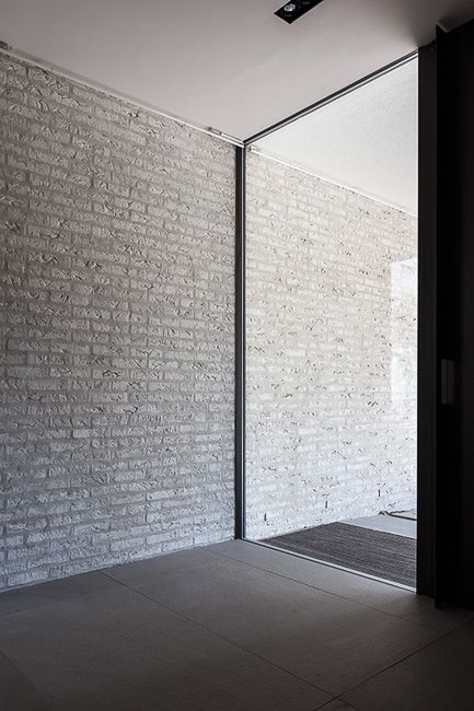 Interior by Belgian architects Areaal. Photo by Cafeïne - Thomas De Bruyne.