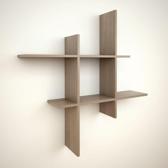 Modelo dipholis espectacular mueble de dise o colgado a for Diseno de libreros para espacios pequenos