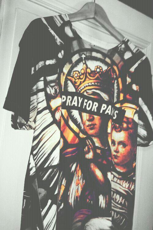 Pray for paris shirt