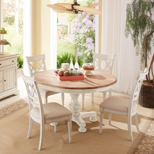 Cresent Fine Furniture Cottage Dining Chair Pack Of 2 Kitchen Table Settings Round Dining Table Dining Table