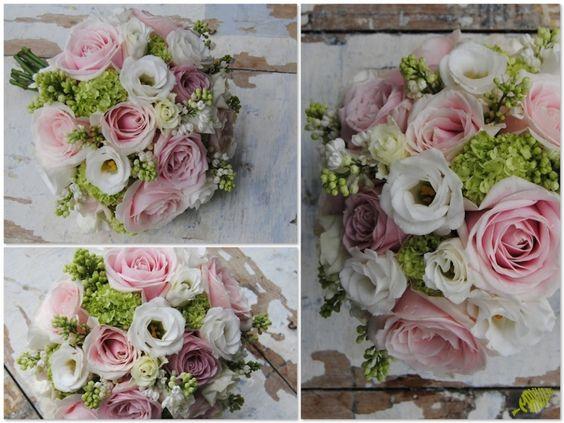 Ramo de novia vintage con rosas nude. Mayula Flores