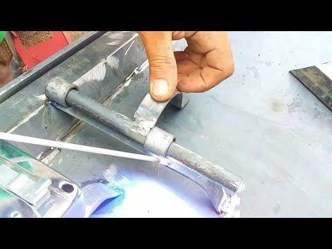الجزء الرابع كيفية صنع سقت زكرون قفل باب الحديد للمبتدئين سدور Welding Youtube Tools Hammer