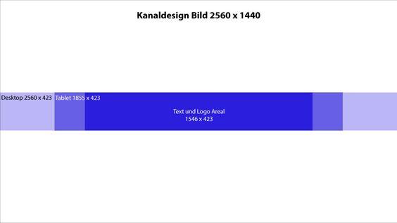 #Kanaldesign #YouTube Vorlage!