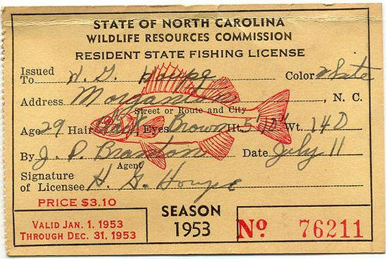 Vintage-fishing-license-1953