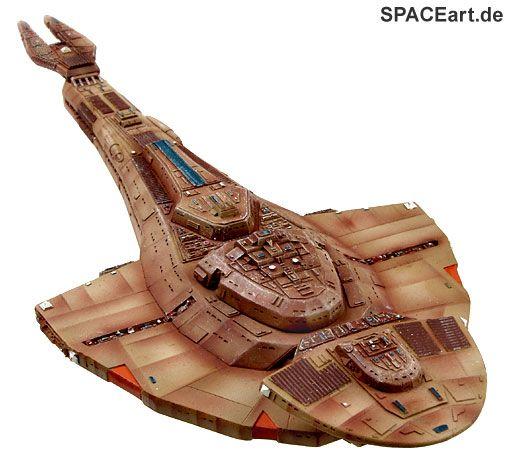 Star Trek: Cardassian Cruiser Galor Class, Modell-Bausatz ... http://spaceart.de/produkte/st016.php