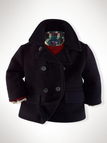Academy Wool Pea Coat