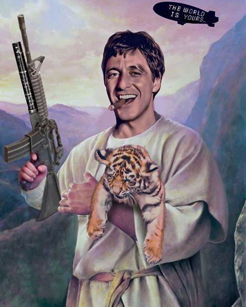 Brothertedd Com In 2021 Tony Montana Scarface Movie Ripndip Wallpaper
