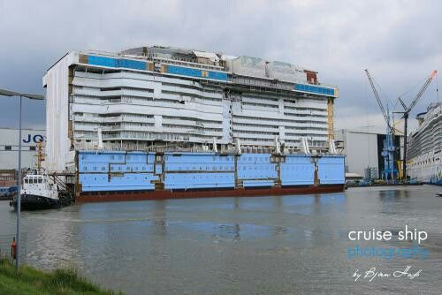 Ovation of the Seas Seaplex Block