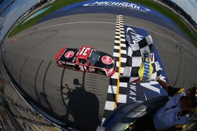 James Buescher Grabs Lead Late to Win at Michigan