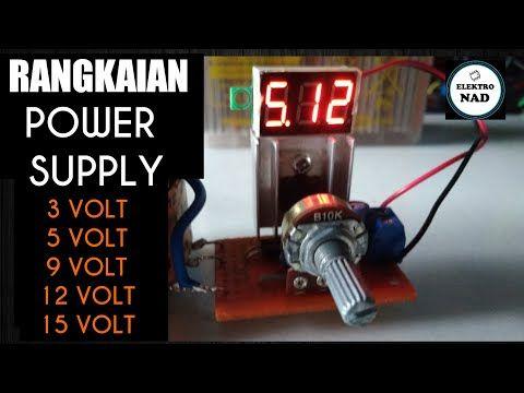 Rangkaian Power Supply Dengan Mosfet Youtube Science