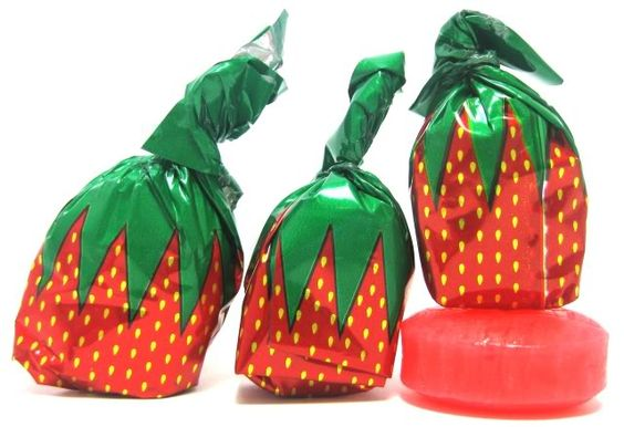 Those strawberry candies: