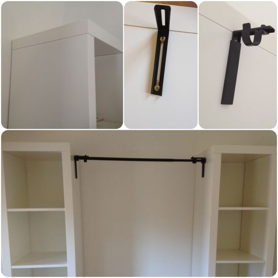 Curtain Rods, Closet And Curtains On Pinterest